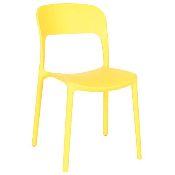 Pack 4 chaises scolaires colorées