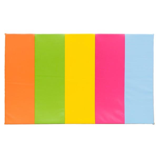 Tapis d'éveil multicolore vif