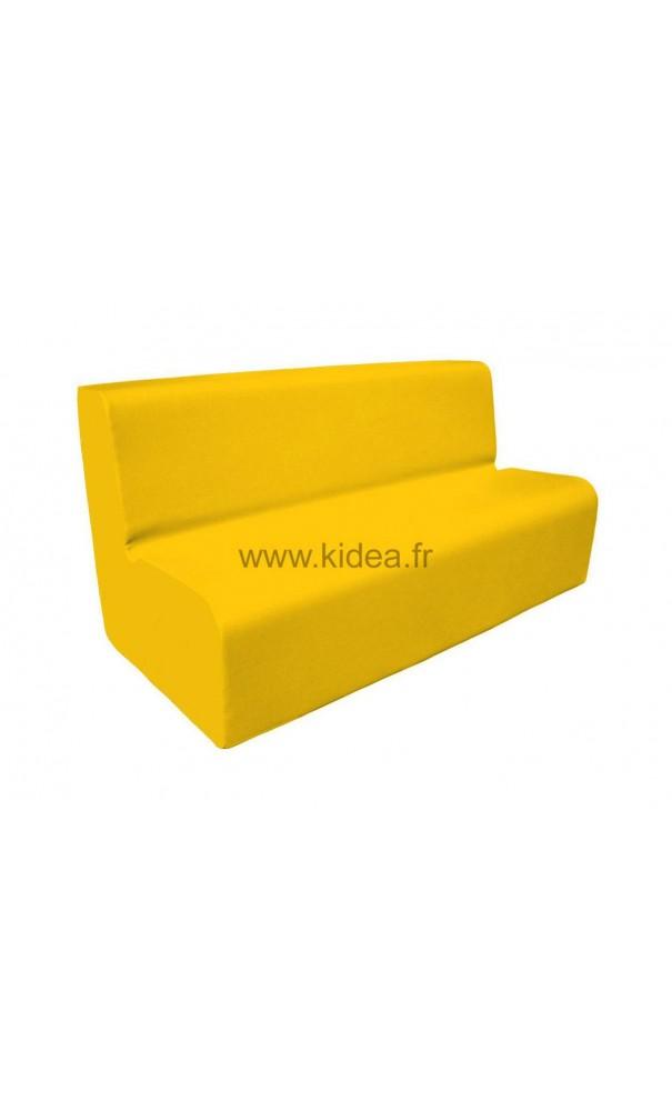 canap 3 places en mousse. Black Bedroom Furniture Sets. Home Design Ideas