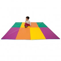 Grand tapis de gym pliable