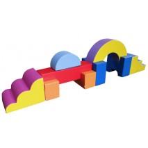Parcours de motricité « BARRAGE » (9 modules)