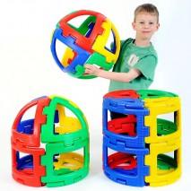 Pack de sphères Polydron géantes