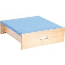 Module de motricité - carré en bois