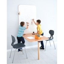 Table murale et chaises empilables - Taille 5 et 6