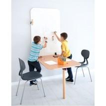 Table murale et chaises empilables - Taille 1 à 4