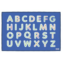 Grand tapis regroupement - Lettres majuscules