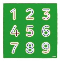 Tapis maternelle - J'apprends les chiffres