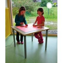 Table lumineuse colorée et polyvalente
