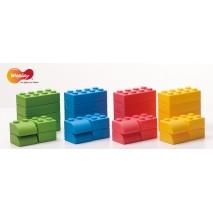 Pack 32 briques de construction souples