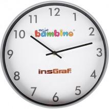 Horloge colorée salle de classe