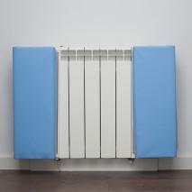 Protection d'angle radiateur