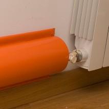 Protection tuyau radiateur