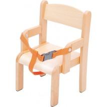 Fauteuil crèche avec ceinture de sécurité
