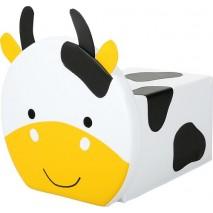 Pouf carré - vache