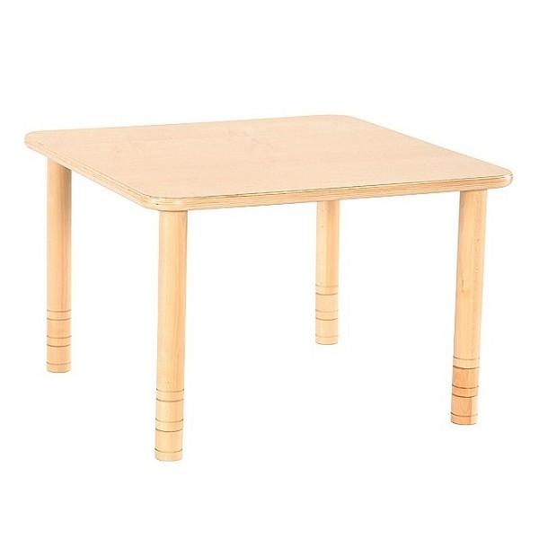 Table crèche carrée réglable