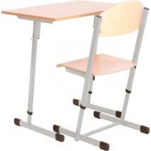Bureau scolaire + chaise réglable - T5 à T6