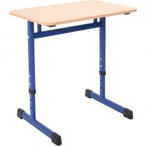 Table scolaire 1 place reglable T3 à T7