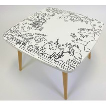"Table de dessin enfant ""Ferme"""