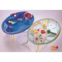 Table de jeu eau et sable