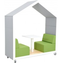 Cabane mobile espace coworking