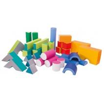 33 blocs de motricité avec sac rangement