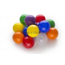 Balles multicolors