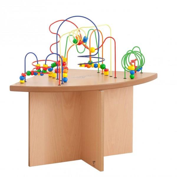 TABLE BOULIER D'ANGLE
