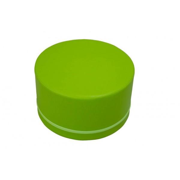 Assise en mousse cylindrique