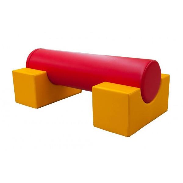 Parcours de motricité avec cylindre