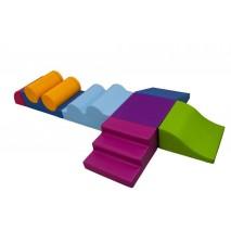 Parcours de motricité « RIGOLO » (9 modules)
