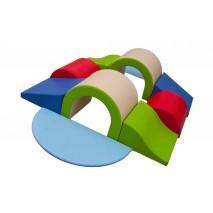 Parcours de motricité « DOUBLE PONT » (10 modules)