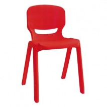 Lot 2 chaises enfant T1 empilables