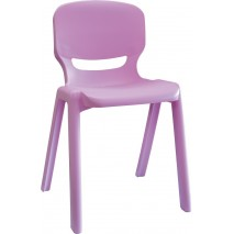 Lot 2 chaises polypropylene T2