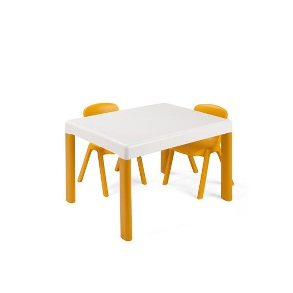 ENSEMBLE TABLE + 2 CHAISES POUR ENFANTS