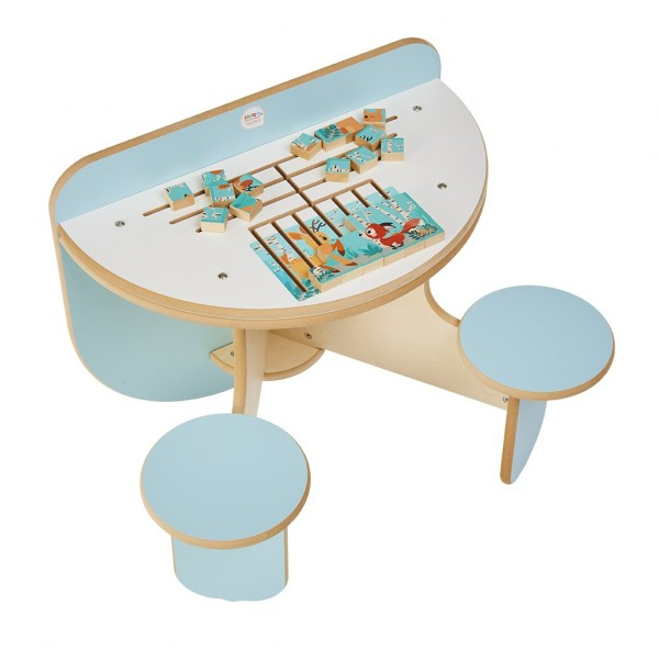 Table d'activité Duo Puzzle Forêt