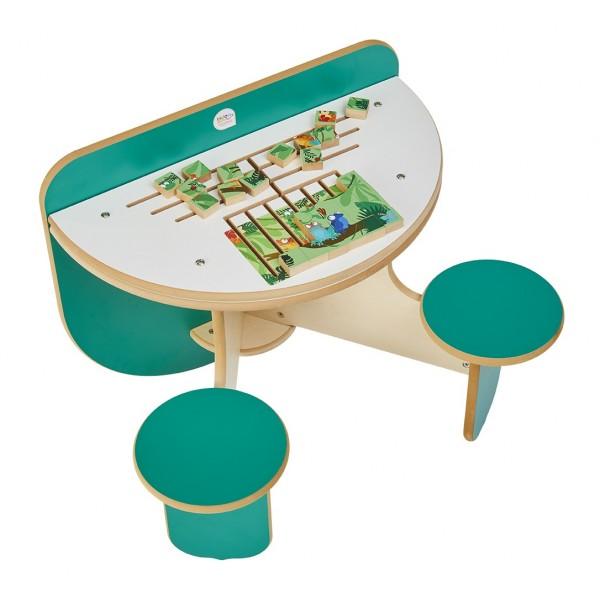 Table d'activité Duo Puzzle Rio