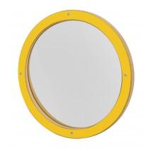 Miroir déformant Enfant Rond Jaune