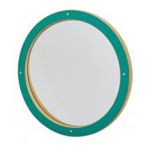 Miroir déformant Enfant Rond Vert
