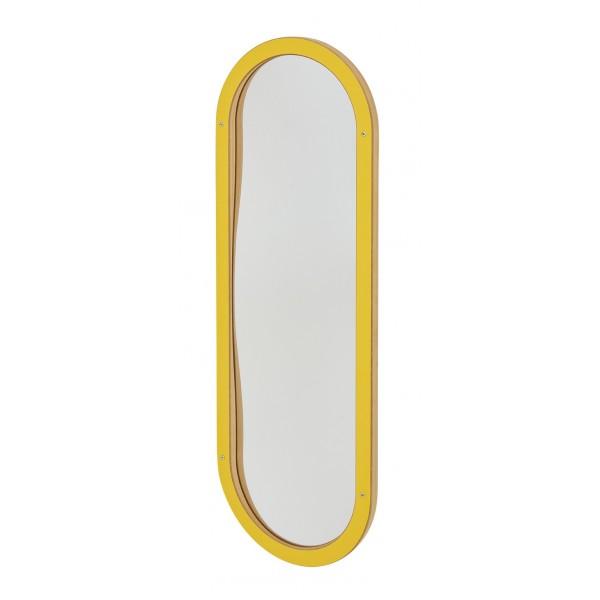 Miroir déformant Enfant Oval Jaune