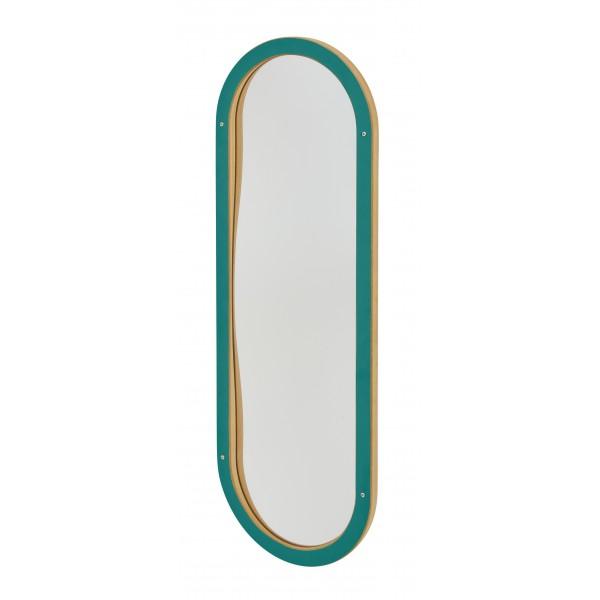 Miroir déformant Enfant Oval vert