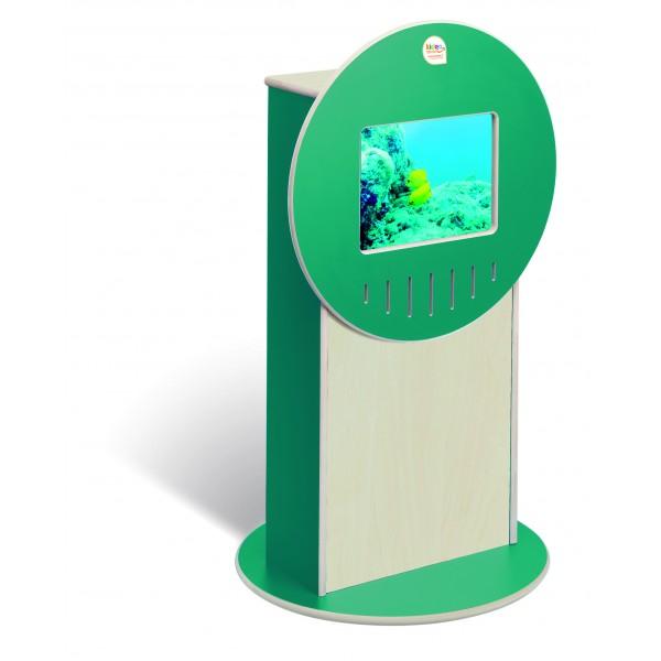Totem Vidéo Videa vert