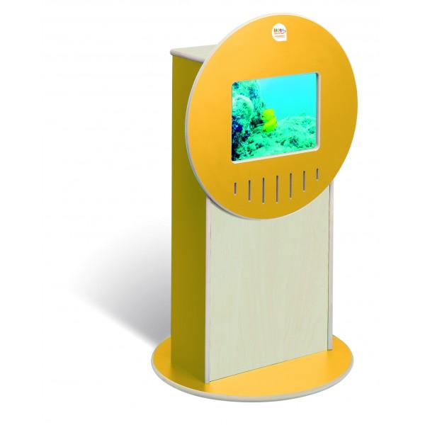 Totem Vidéo Videa jaune