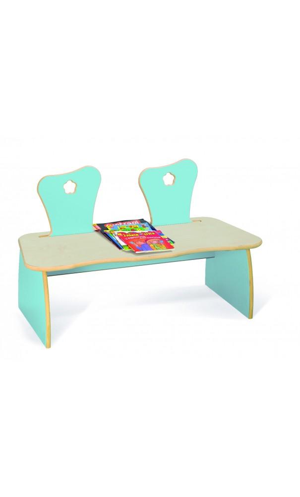 banc pour enfants etoile kidea. Black Bedroom Furniture Sets. Home Design Ideas