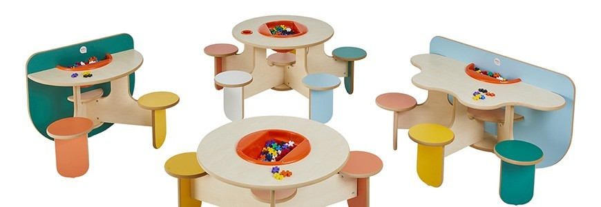 table de jeux pour enfant kidea international. Black Bedroom Furniture Sets. Home Design Ideas