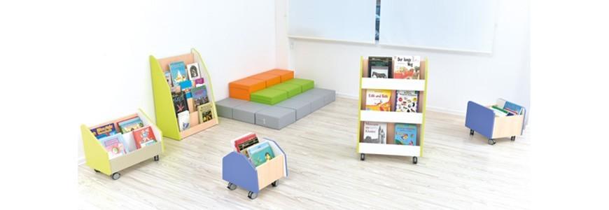 Bacs A Livres Et Meuble Bibliotheque Kidea International