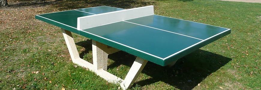 e2dea1e43b388b Table ping pong... La table de ping pong extérieur ...