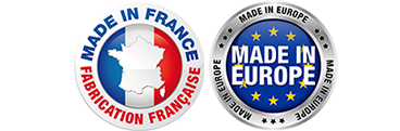 Logo Made in France, Made in Europe - Kidea